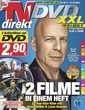 TVdirekt Cover - Spielfilm Highlight auf DVD: 96 Hours & Set up (2 Filme auf DVD) <br/><br/>96 Hours