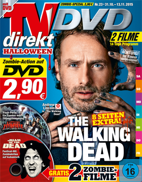 TVdirekt Cover - Spielfilm Highlight auf DVD: Juan of the Dead & A Little Bit Zombie (2 Filme auf DVD) <br/><br/> Juan of the Dead