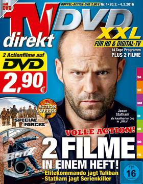 TVdirekt Cover - Spielfilm Highlight auf DVD: Blitz & Special Forces (2 Filme auf DVD) <br/><br/> Blitz