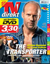 TVdirekt Cover - Spielfilm Highlight auf DVD: The Transporter